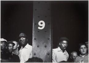 《シカゴ 街》1960年頃  ©高知県,石元泰博フォトセンター