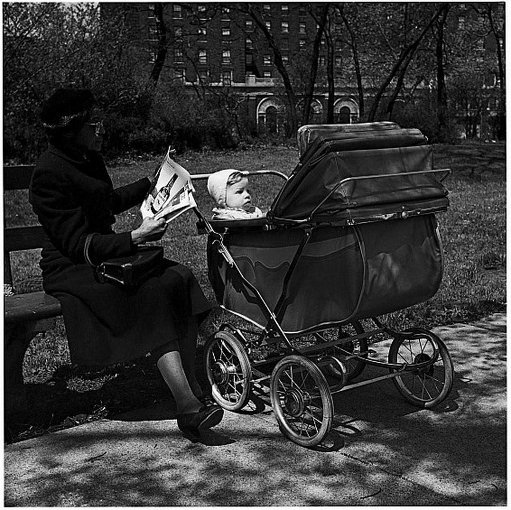 《シカゴ 街》1951年 ©高知県,石元泰博フォトセンター
