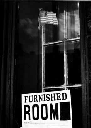 《シカゴ 街》(1960年頃)   ©高知県,石元泰博フォトセンター
