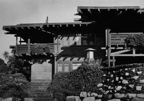 《ギャンブル邸》 1974年 (c)高知県,石元泰博フォトセンター