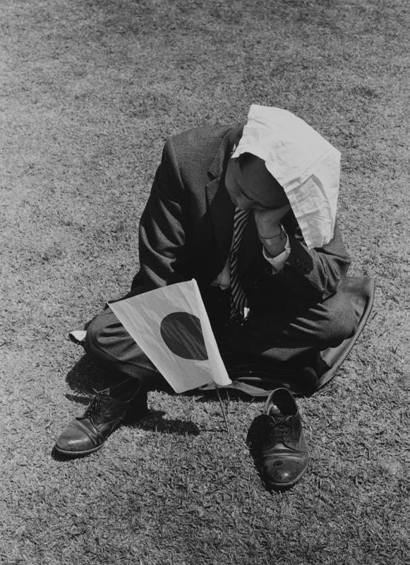 ≪日の丸≫(1963年)  ©高知県,石元泰博フォトセンター