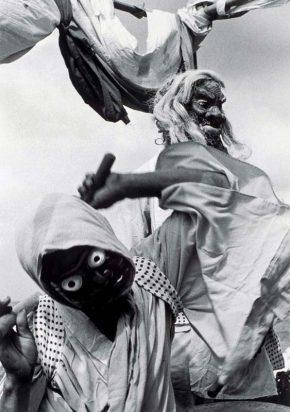 《御陣乗太鼓(輪島)》1963年頃 ©高知県,石元泰博フォトセンター