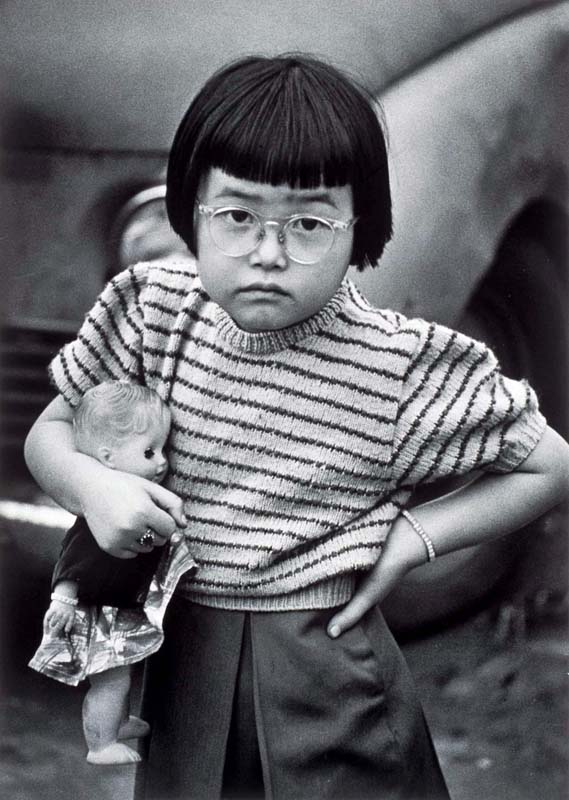 『ある日ある所』より 《東京 こども》 1953-57年 ©高知県,石元泰博フォトセンター
