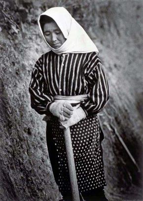 《男鹿半島(秋田)》  1963年 ©高知県,石元泰博フォトセンター