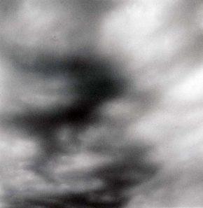 《雲》1995年 ©高知県,石元泰博フォトセンター
